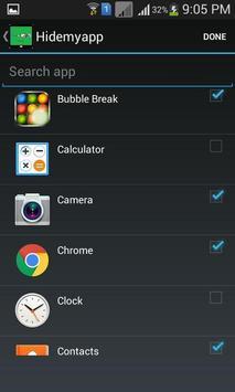 Hide Apps screenshot 2