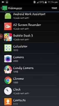 Hide Apps screenshot 3