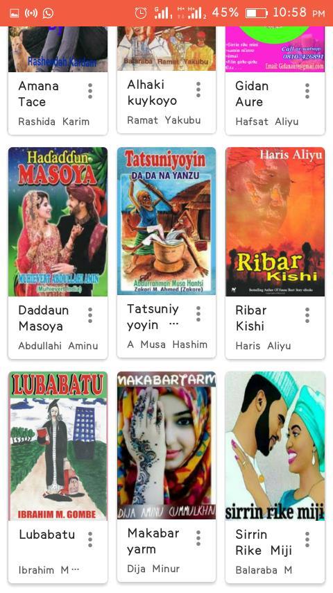 Sababbin Hausa Novels for Android - APK Download
