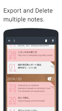Miminote screenshot 4