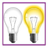 Simple Bulb💡On and off ( with Torch🔦)day/night🌗 أيقونة