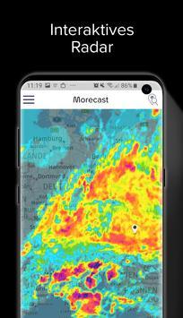 Wetter, Radar & Widget – Morecast Screenshot 1