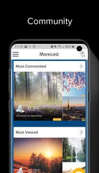 Wetter, Radar & Widget – Morecast Screenshot 4