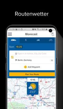 Wetter, Radar & Widget – Morecast Screenshot 3