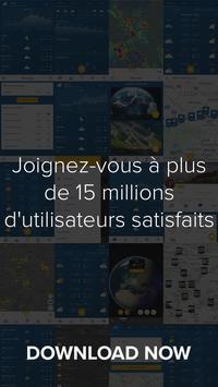 App Météo Android & Radar Doppler - Morecast capture d'écran 7