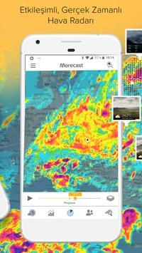 Hava, Radar & Widget - Morecast Ekran Görüntüsü 2