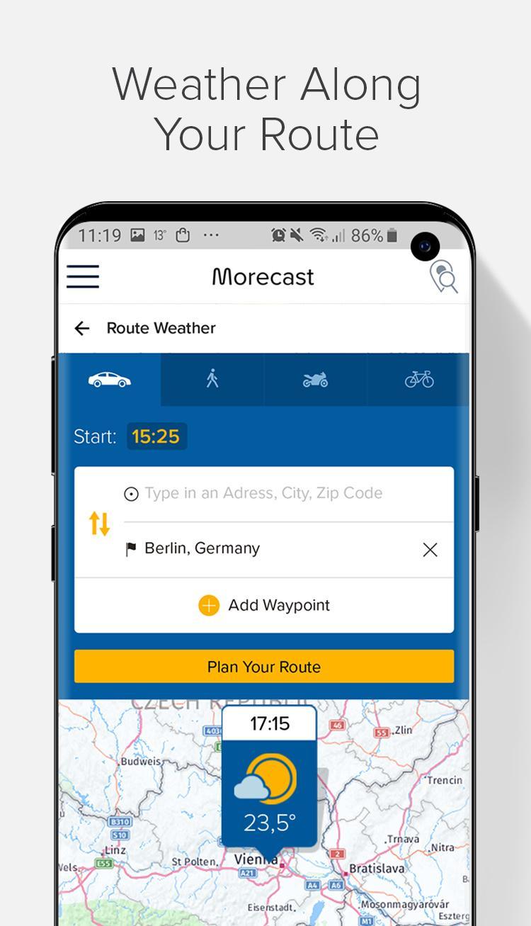 Weather Forecast, Radar & Widgets - Morecast APK 4 0 22