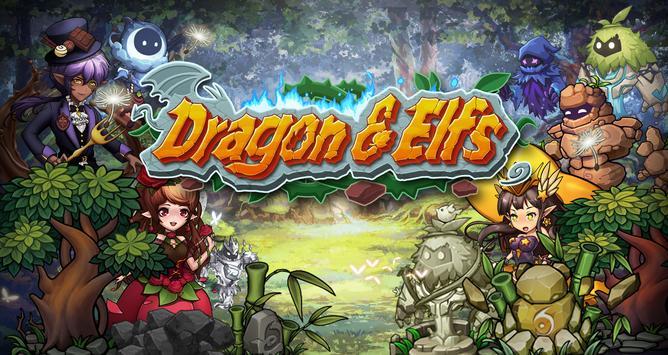 Dragon & Elves постер