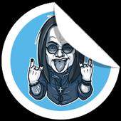 Stickers for Telegram icon
