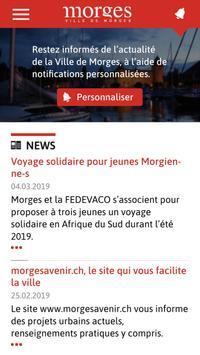 Ville de Morges poster