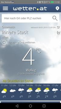 wetter.at poster