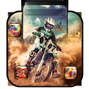 Motocross dirt bike theme APK