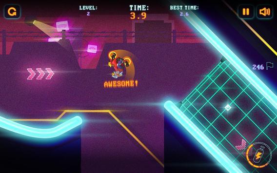 Neon Motocross screenshot 1