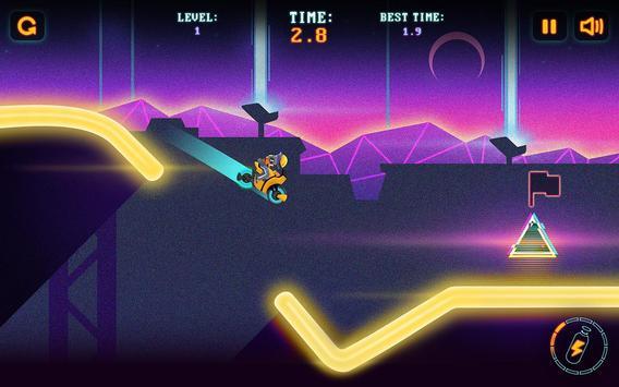 Neon Motocross screenshot 4