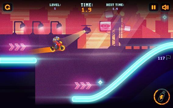 Neon Motocross screenshot 5