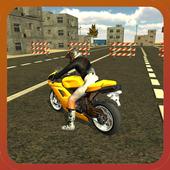 Motor Bike Crush Simulator 3D icon