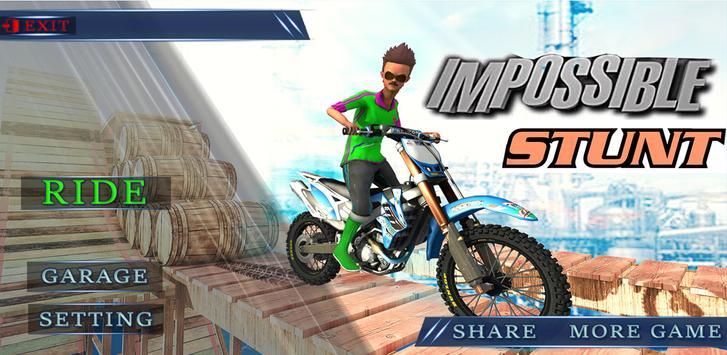 Moto Xtreme Trial Bike Games screenshot 1
