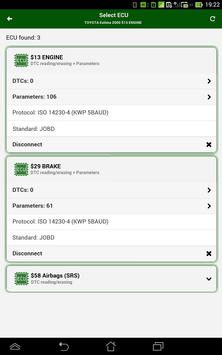 Diagnostik MotorData OBD Mobil. ELM OBD2 scanner screenshot 17