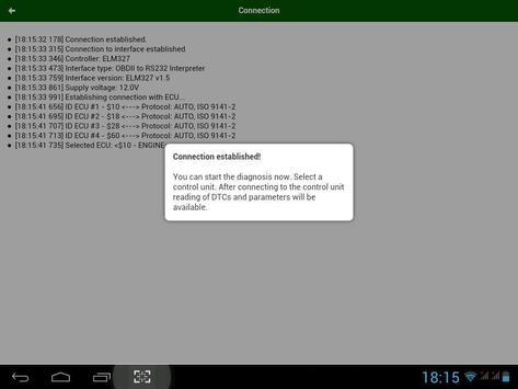Diagnostik MotorData OBD Mobil. ELM OBD2 scanner screenshot 21