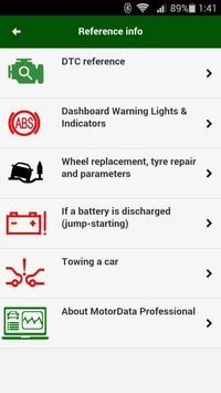 Diagnostik MotorData OBD Mobil. ELM OBD2 scanner screenshot 2