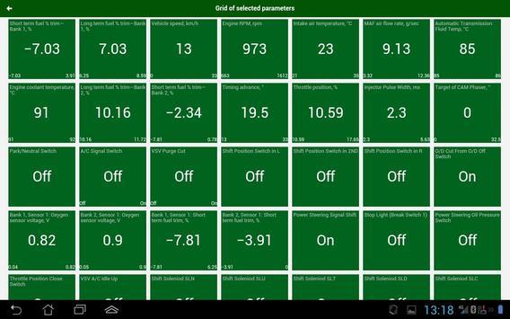 Diagnostik MotorData OBD Mobil. ELM OBD2 scanner screenshot 8