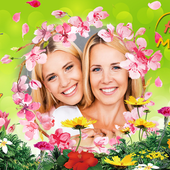 Happy Mother's Day photo frame icon