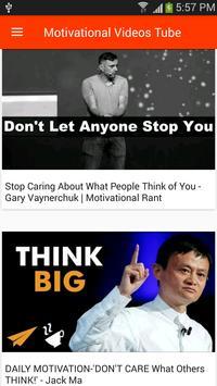 Motivational Videos Tube poster