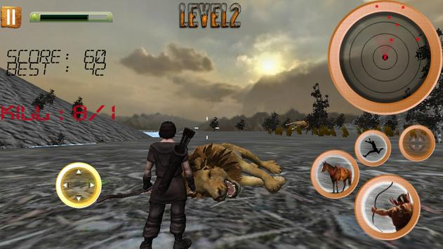 Jungle Animals Hunting Archery screenshot 4