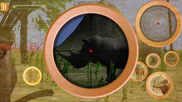 Jungle Animals Hunting Archery screenshot 7