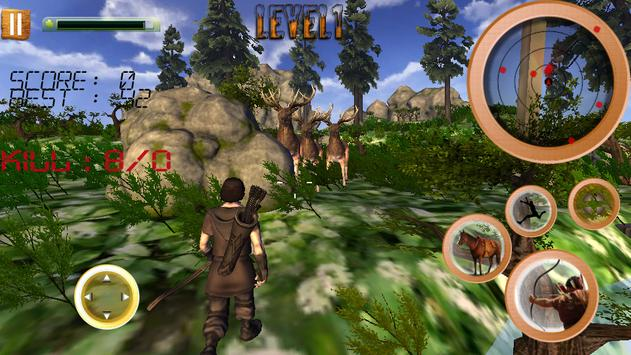 Jungle Animals Hunting Archery screenshot 16