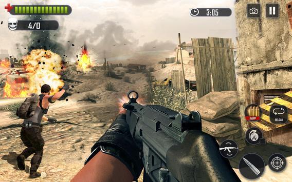 Battleground Legend Fire Shooting screenshot 2