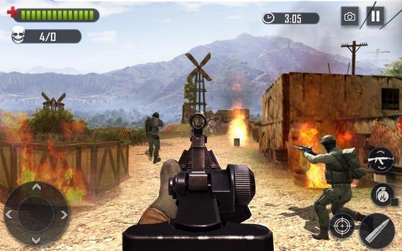 Battleground Legend Fire Shooting screenshot 4