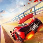 Impossible Mega Ramp Stunt Car icon