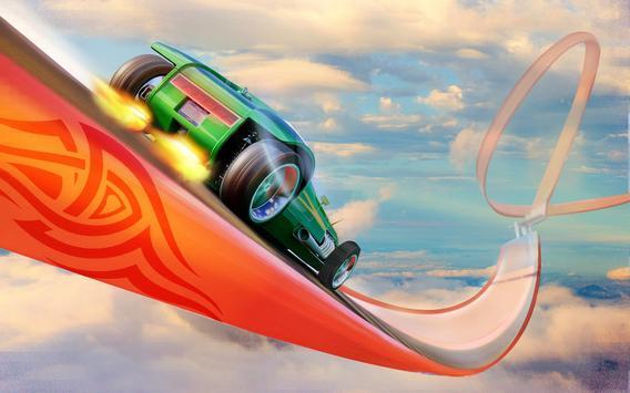 Impossible Mega Ramp Stunt Car screenshot 10