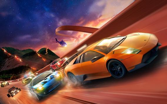 Impossible Mega Ramp Stunt Car screenshot 7