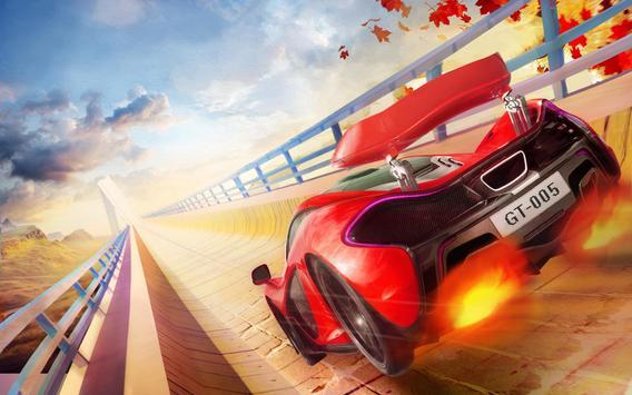 Impossible Mega Ramp Stunt Car screenshot 8