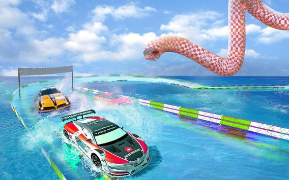 Impossible Mega Ramp Stunt Car screenshot 9