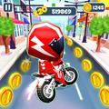 Crazy Bike Rush Runner Free Running Game