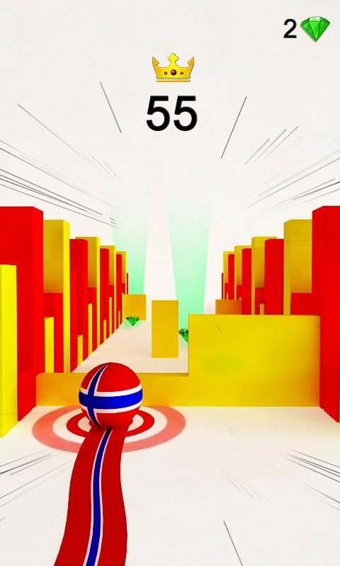 Ball Rolling Catch Up Rush For Android Apk Download