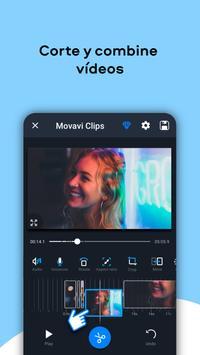Movavi Clips - Video Editor with Slideshows captura de pantalla 2