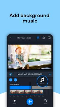 Movavi Clips - Video Editor with Slideshows स्क्रीनशॉट 4