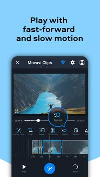 Movavi Clips - Video Editor with Slideshows स्क्रीनशॉट 5