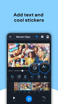 Movavi Clips - Video Editor with Slideshows स्क्रीनशॉट 6