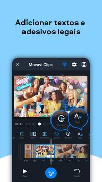 Movavi Clips - Video Editor with Slideshows imagem de tela 6