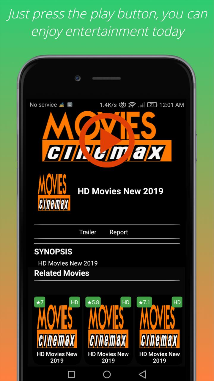 HD Movies Cinemax 2019 - Movies HD for Free for Android