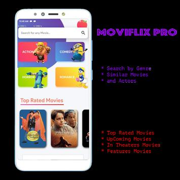 MoviFlix Pro - Watch HD Movies Online Free 2019 poster