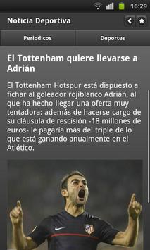Noticias Deportivas (España) screenshot 1