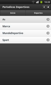 Noticias Deportivas (España) screenshot 2