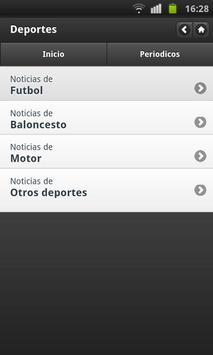Noticias Deportivas (España) screenshot 3