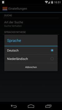 Offline German Dutch Dictionary screenshot 2